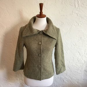 Jackets & Blazers - Vintage inspired boucle jacket. Size small.